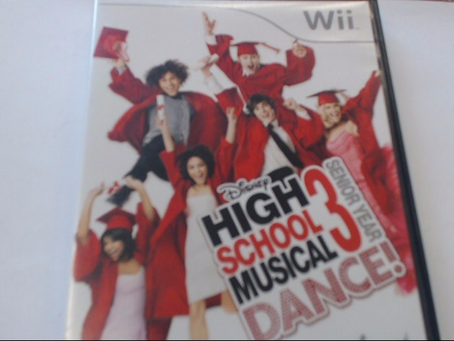 WII HIGH SCHOOL MUSICAL 3