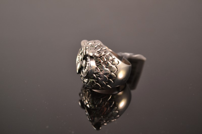 Lady's Ring Silver Stainless 16.5g