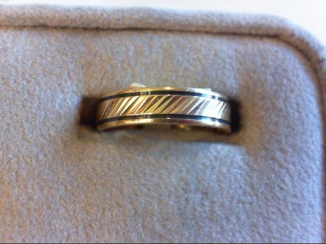 Lady's Gold Wedding Band 10K Yellow Gold 3.2g