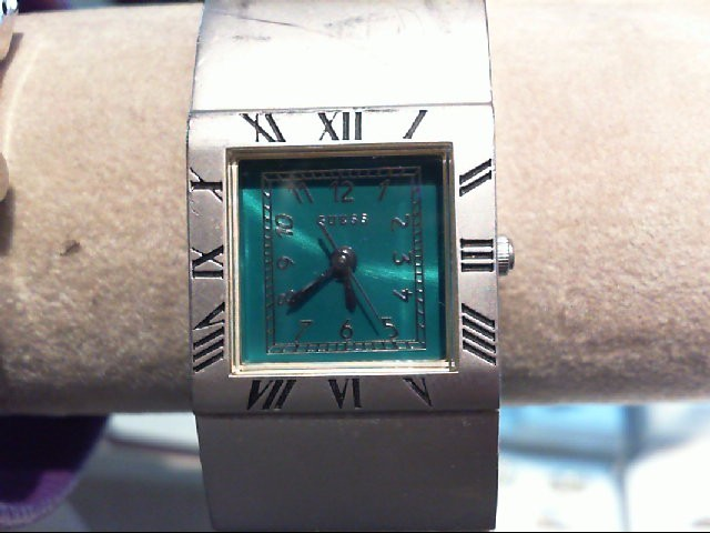 WMNS GRN FACE GUESS WATCH