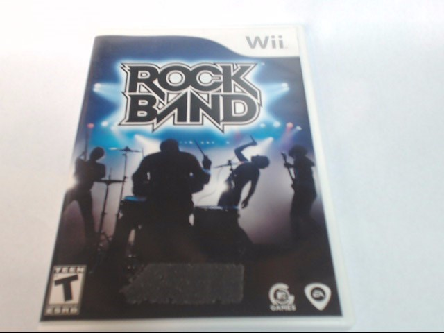 Nintendo Wii Game ROCK BAND