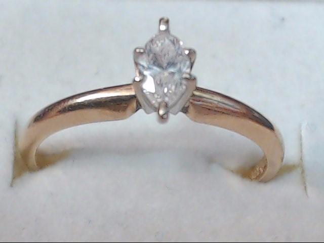 DIAMOND RING 14K 1.7G S-6.75