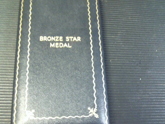 WWII BRONZE STAR MEDAL