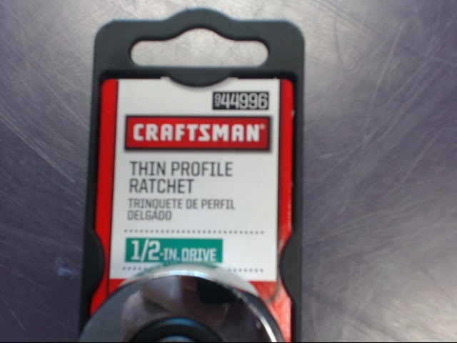 "CRAFTSMAN RATCHET 44996 1/2"" DRIVE THIN PROFILE"