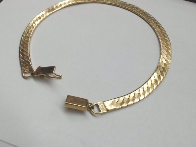 Gold Bracelet 14K Yellow Gold 9.6g