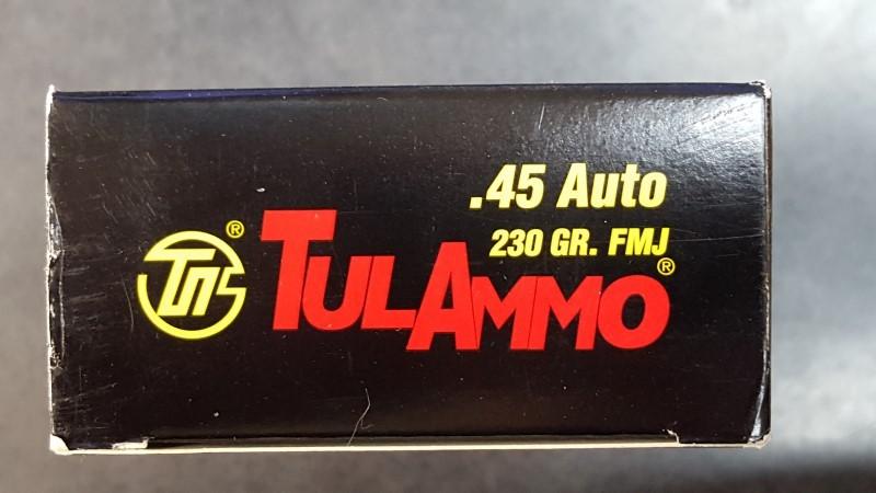 TUL AMMO Ammunition .45ACP