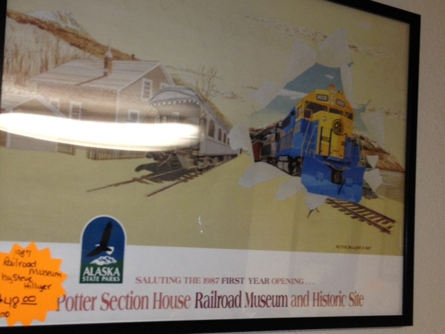 1987 RAILROAD MUSEUM BY STEVE HILLYER