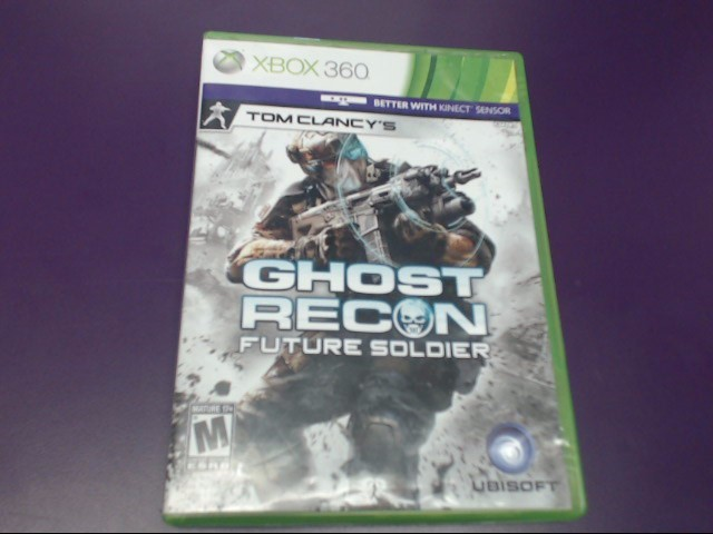 Tom Clancy's Ghost Recon: Future Soldier - Microsoft Xbox 360 Game