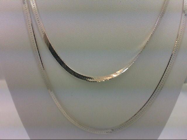 "30"" Silver Chain 925 Silver 7.1g"