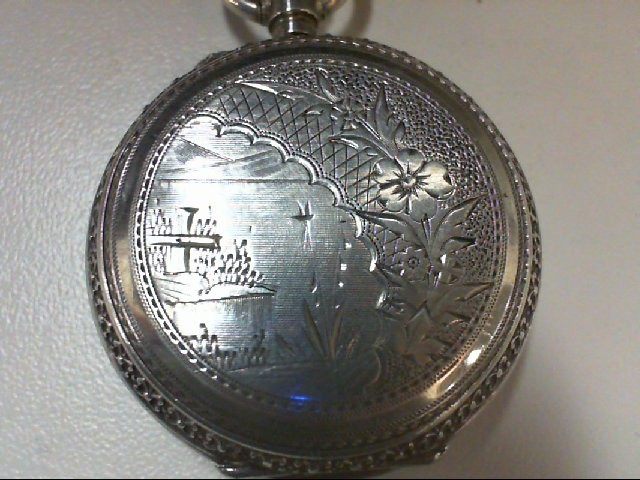 SMALL HUNTER CASE POCKET WATCH