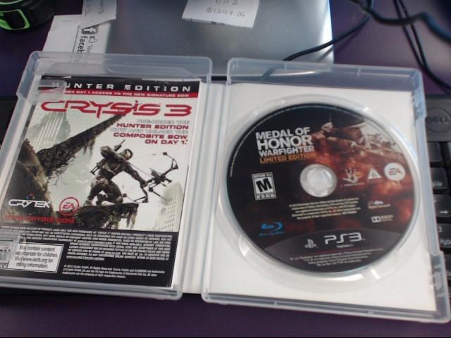 SONY Sony PlayStation 3 MEDAL OF HONOR WARFIGHTER