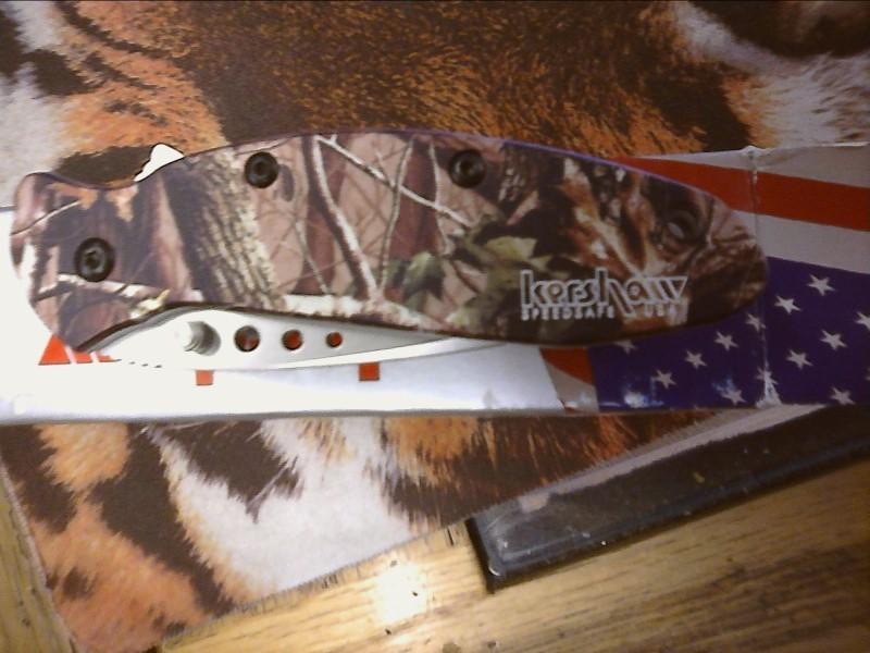 KERSHAW Pocket Knife 1620C SCALLION-CAMO