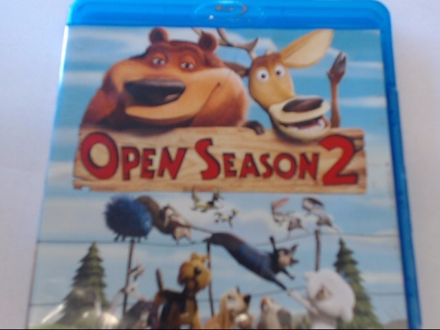 OPEN SEASON 2 - BLU-RAY MOVIE