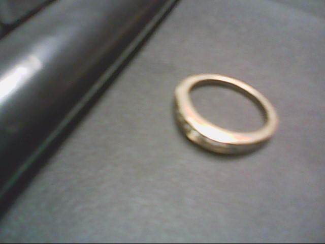 Lady's Diamond Wedding Band 11 Diamonds .75 Carat T.W. 14K Yellow Gold 3.7g