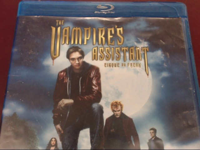THE VAMPIRE'S ASSISTANT BLU-RAY