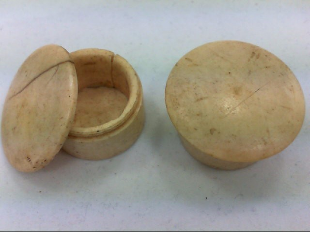 CAMEL BONE JARS- PAIR
