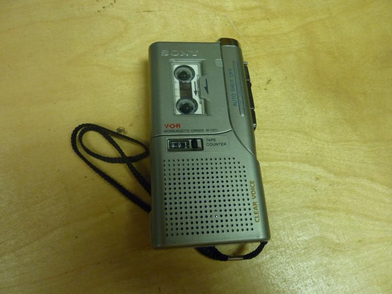 SONY Tape Player/Recorder M-530V