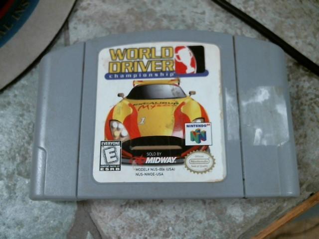 NINTENDO Nintendo 64 Game WORLD DRIVER CHAMPIONSHIP