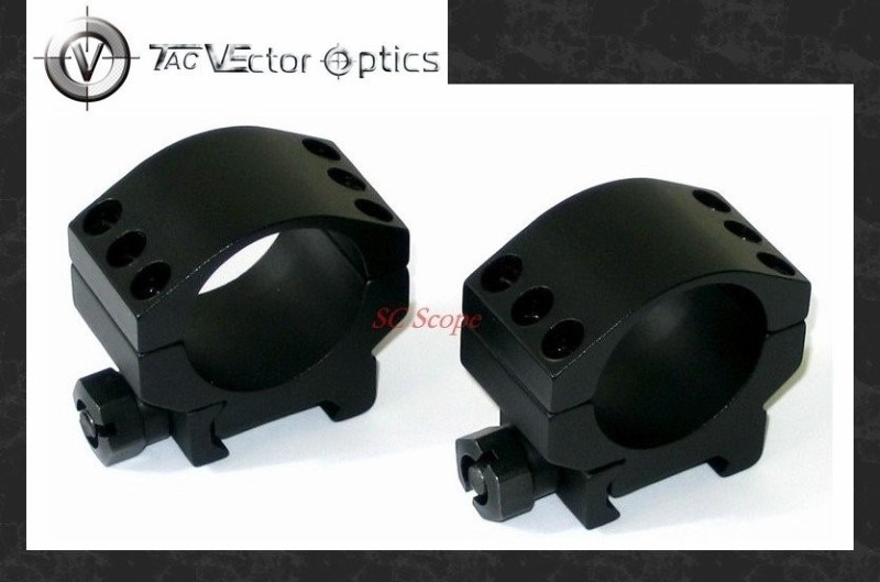 VECTOR OPTICS Accessories 30MM LOW SCOPE RINGS