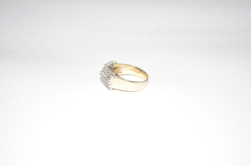 Lady's Diamond Band 45 Diamonds .90 Carat T.W. 14K Yellow Gold 5.3g