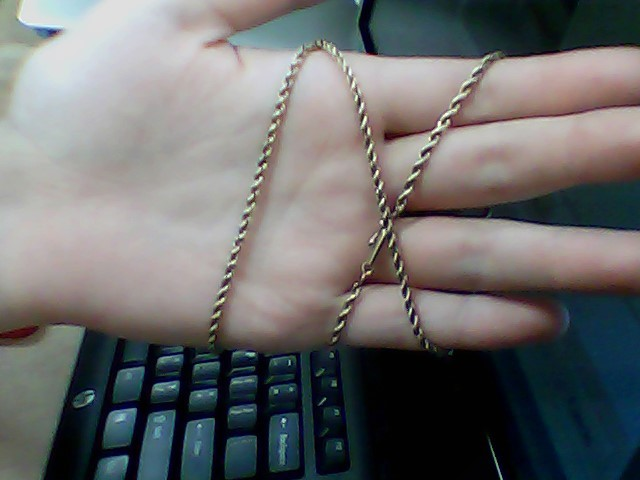 "21"" Gold Chain 14K Yellow Gold 10.4g"