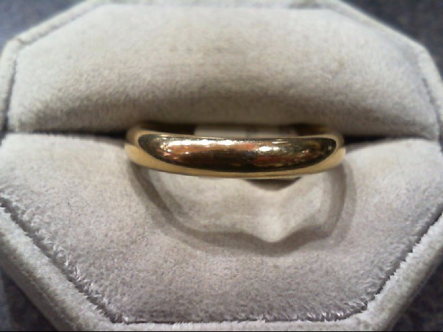 Gent's Gold Wedding Band 14K Yellow Gold 7g Size:13.3