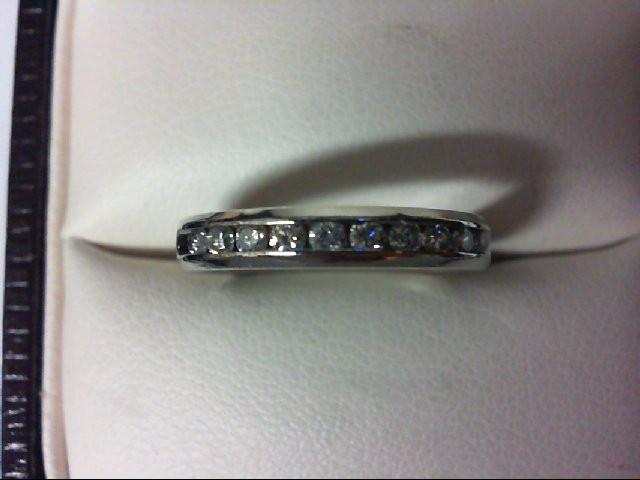 Lady's Platinum-Diamond Wedding Band 10 Diamonds 0.2 Carat T.W. 950 Platinum 3.6