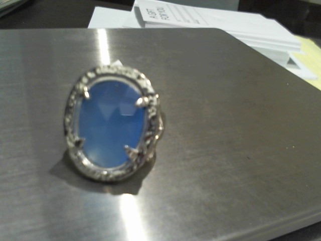 Lady's Silver Ring 925 Silver 19.5g