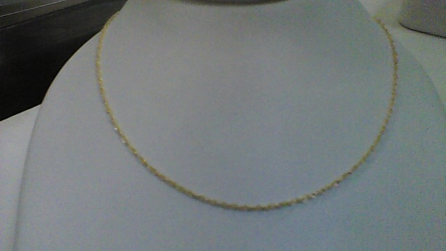 Gold Fine Chain 10K Yellow Gold 0.7g