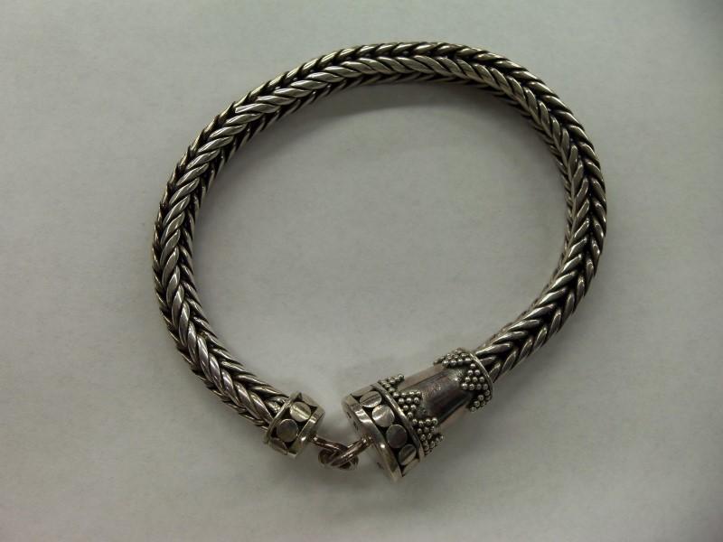 Silver Bismarck Bracelet 925 Silver 27.3g