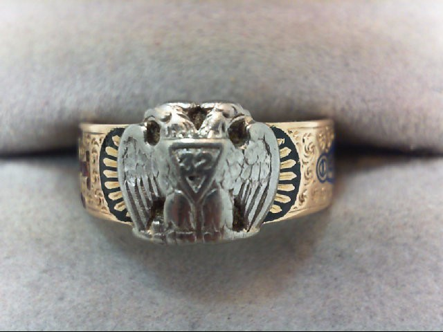 Gent's Gold Ring 14K Yellow Gold 5.5g