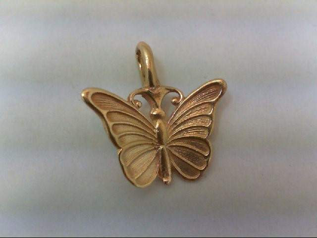 Gold Pendant 14K Yellow Gold 1.2g