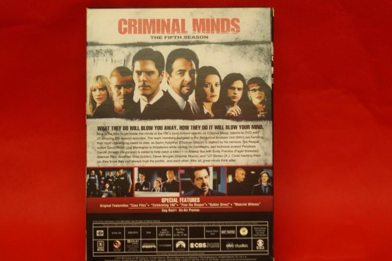 Criminal Minds: Season 5 (DVD, 2010, 6-Disc Set)