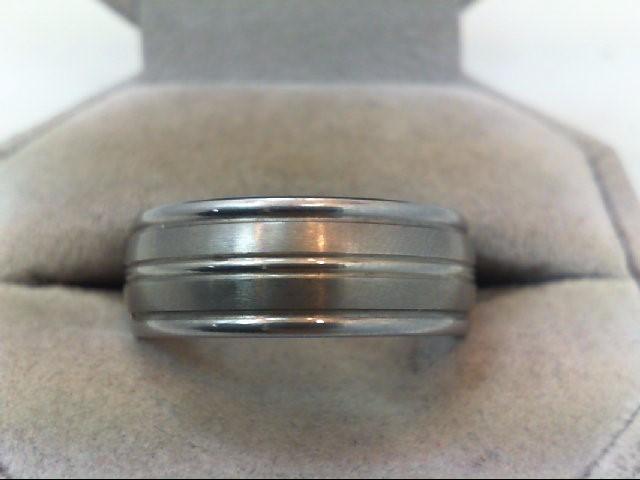 Gent's Ring Black Tungsten 13.5g
