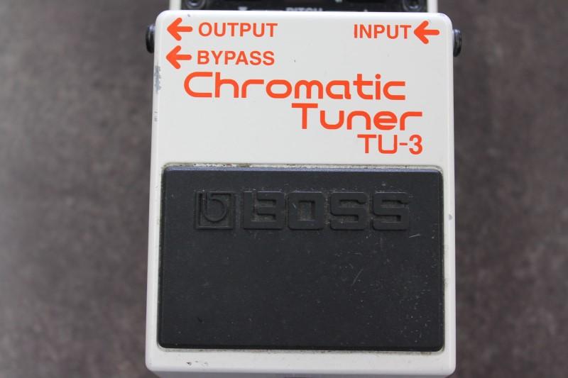 BOSS Effect Equipment CHROMATIC TUNER TU-3