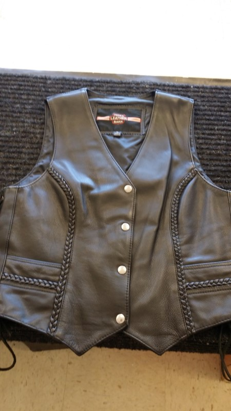 PAPA'S LEATHER Clothing LEATHER VEST