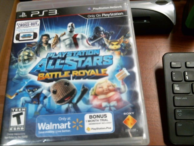 SONY Sony PlayStation 3 Game ALL-STARS BATTLE ROYALE - PS3