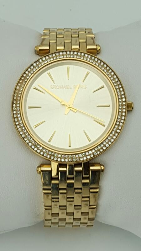 MICHAEL KORS Lady's Wristwatch DARCI GOLD-TONE STAINLESS STEEL MK-3191