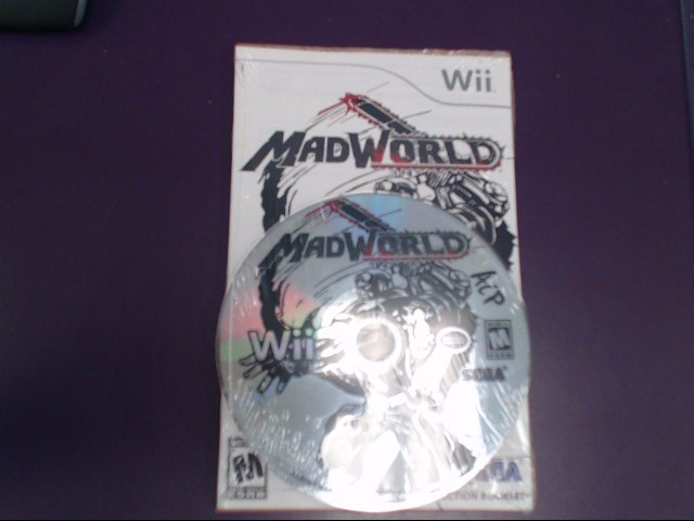 MADWORLD - NINTENDO WII *MINOR SCRATCHES*