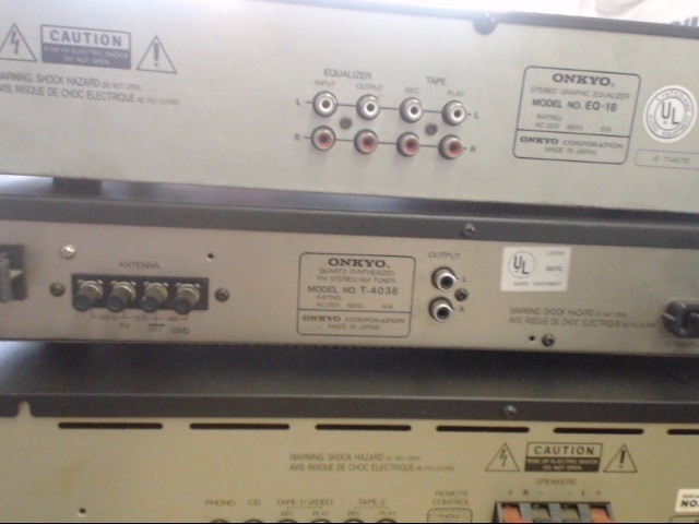 ONKYO Equalizer T-4038