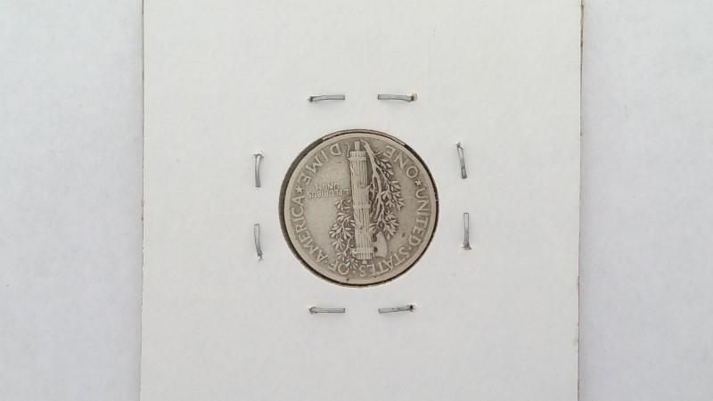 United States 1941 Mercury Dime