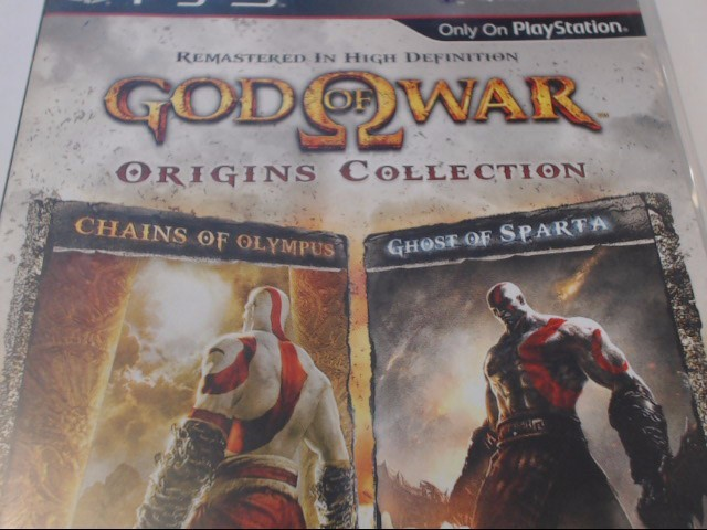 SONY PS3 GOD OF WAR ORIGINS COLLECTION