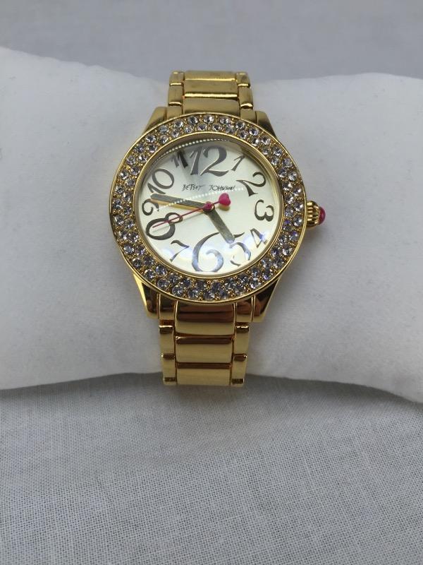 BETSEY JOHNSON Lady's Wristwatch BJ00191-02