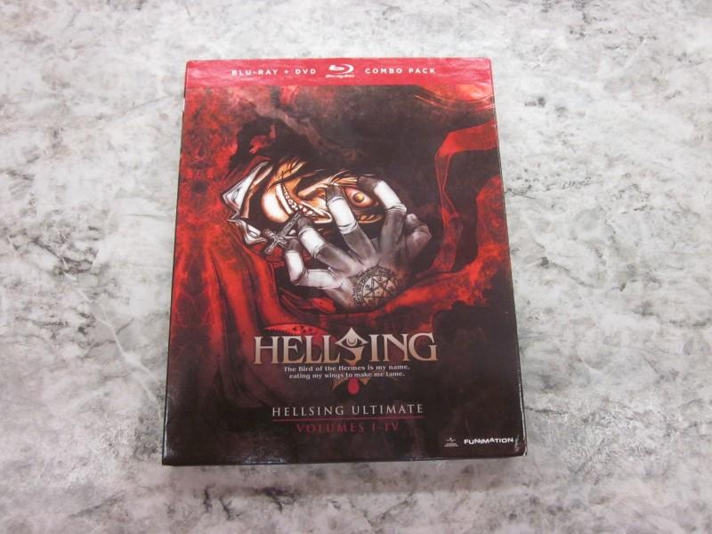 BLU-RAY HELLSING VOLUMES I-IV