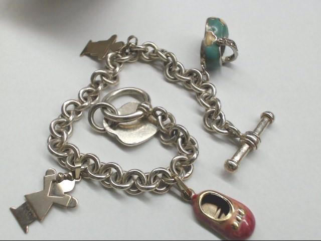 Silver Bracelet 925 Silver 33.8g