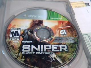 MICROSOFT Microsoft XBOX 360 Game SNIPER GHOST WARRIOR