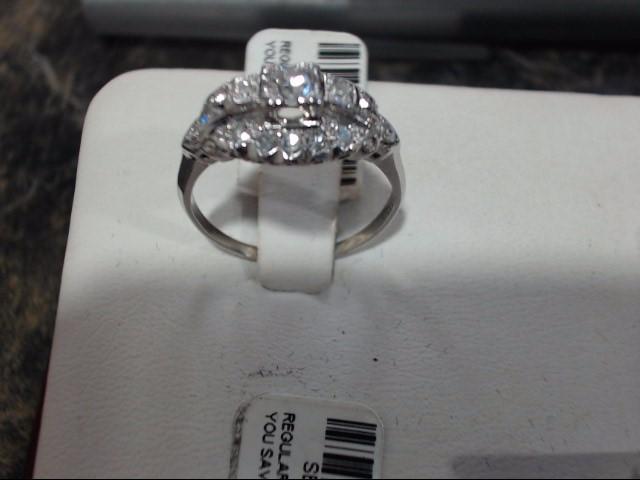 Lady's Platinum Ring 900 Platinum 3.8g