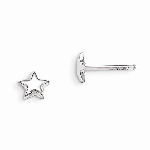 Silver Earrings 925 Silver 0.4g