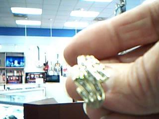 Lady's Diamond Fashion Ring 42 Diamonds .42 Carat T.W. 10K Yellow Gold 3.7g