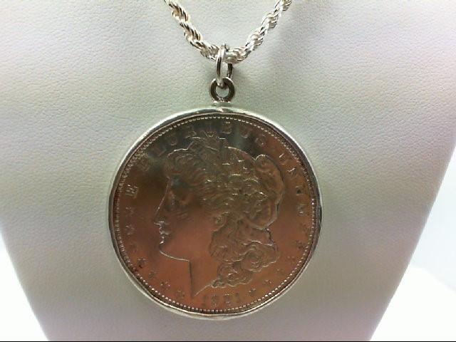Silver Pendant 925 Silver 30.3g